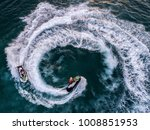 people are playing a jet ski in ... | Shutterstock . vector #1008851953
