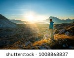 young man enjoying the view of... | Shutterstock . vector #1008868837