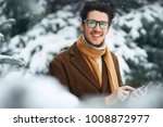 outdoor close up portrait of... | Shutterstock . vector #1008872977
