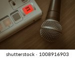 microphone and sound mixer   Shutterstock . vector #1008916903