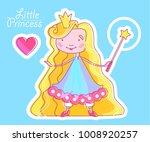 little princess design template ... | Shutterstock .eps vector #1008920257