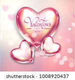 happy valentine's day soft... | Shutterstock .eps vector #1008920437