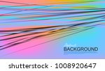 abstract geometric line... | Shutterstock .eps vector #1008920647
