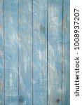 Vintage Blue Wood Background...