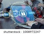 network security concept.   Shutterstock . vector #1008972247