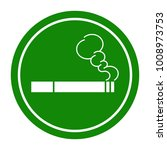 "sign ""smoking area"". vector... | Shutterstock .eps vector #1008973753"