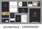 corporate identity branding... | Shutterstock .eps vector #1009002043