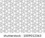 seamless vector pattern in... | Shutterstock .eps vector #1009012363