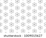seamless ornamental vector... | Shutterstock .eps vector #1009015627