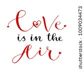 love is in the air. valentines... | Shutterstock .eps vector #1009034473