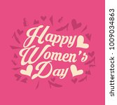 international women's day... | Shutterstock .eps vector #1009034863