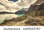 torres del paine national park  ...   Shutterstock . vector #1009035787