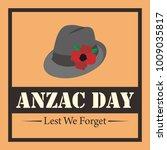 anzac day illustration | Shutterstock .eps vector #1009035817