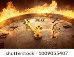 eleven fifty five  3d rendering  | Shutterstock . vector #1009055407