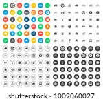 transport icons set | Shutterstock .eps vector #1009060027