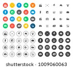 photography icons set | Shutterstock .eps vector #1009060063
