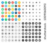 map icons set | Shutterstock .eps vector #1009060093