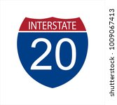 raster illustration interstate... | Shutterstock . vector #1009067413