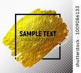 gold paint glittering textured...   Shutterstock .eps vector #1009086133