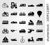 transport vector icon set. hot...   Shutterstock .eps vector #1009123897