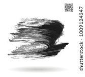 grey brush stroke and texture.... | Shutterstock .eps vector #1009124347