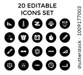 measurement icons. set of 20... | Shutterstock .eps vector #1009177003