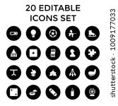 Leisure Icons. Set Of 20...