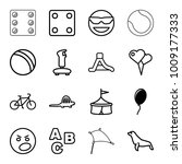 Fun Icons. Set Of 16 Editable...