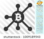 bitcoin full node pictograph... | Shutterstock .eps vector #1009189543