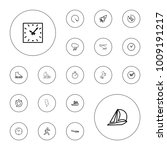 editable vector speed icons ... | Shutterstock .eps vector #1009191217