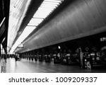 blurred subway station | Shutterstock . vector #1009209337