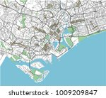 colorful singapore vector city... | Shutterstock .eps vector #1009209847