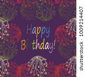 abstract zentangle inspired art ... | Shutterstock .eps vector #1009214407