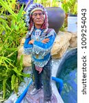 Small photo of Man in the native American Indian chief