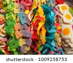 assortment of colorful candies...   Shutterstock . vector #1009258753