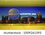 new york  25 nov 2017  sign... | Shutterstock . vector #1009261393