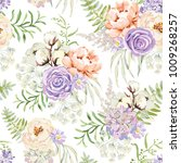 mauve spring bouquets on the... | Shutterstock .eps vector #1009268257