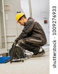 electrician engineer tests...   Shutterstock . vector #1009276933
