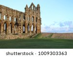 Landscape Shot Of Whitby Abbey...