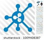 ripple full node pictograph... | Shutterstock .eps vector #1009408387