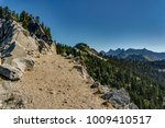 wide trail along the edge of a... | Shutterstock . vector #1009410517