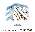 watercolor illustration of the... | Shutterstock . vector #1009425547