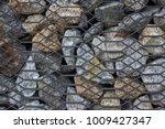 modern ideas square stone... | Shutterstock . vector #1009427347