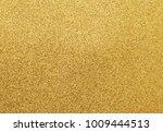 top view of golden glitter... | Shutterstock . vector #1009444513