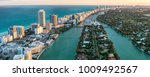 miami beach  wonderful aerial... | Shutterstock . vector #1009492567