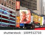 new york  usa   sep 16  2017 ... | Shutterstock . vector #1009512733