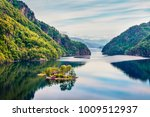 splendid summer view of small... | Shutterstock . vector #1009512937