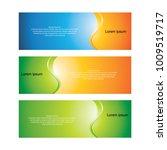 banner   designs template | Shutterstock .eps vector #1009519717
