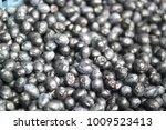 Black Olives On Market Basket