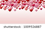 valentines day design with... | Shutterstock . vector #1009526887